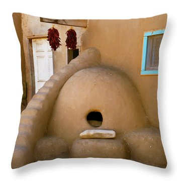 Indian Hearth Throw Pillow