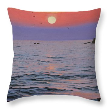 Indian Ocean Throw Pillow