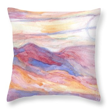 Indian Summer Sky Throw Pillow