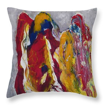 Indian Wedding Throw Pillow