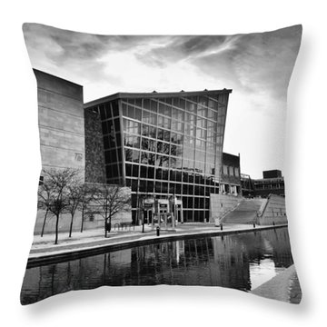 Indiana State Museum Throw Pillow