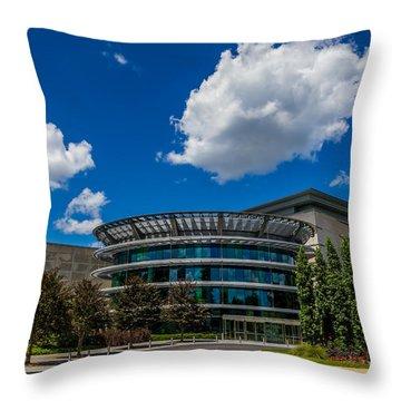 Indianapolis Museum Of Art Throw Pillow