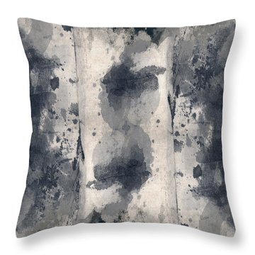 Indigo Clouds 3 Throw Pillow