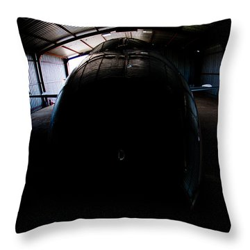 Indoors Throw Pillow by Paul Job