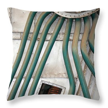 Industrial Art Throw Pillow
