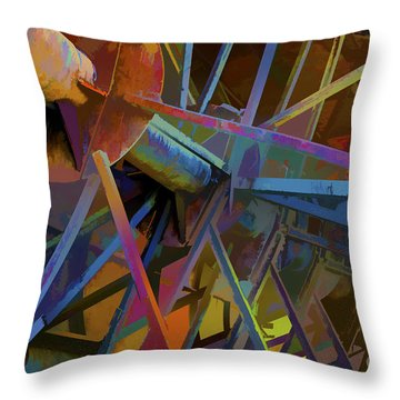 Industrial Light And Magic Throw Pillow by Gary Holmes
