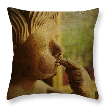 Infant Cherub Throw Pillow