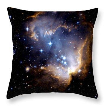 Infant Stars Throw Pillow by Amanda Struz