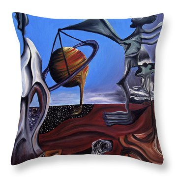 Infatuasilaphrene Throw Pillow by Ryan Demaree