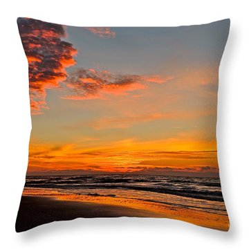 Inferno Sky Throw Pillow