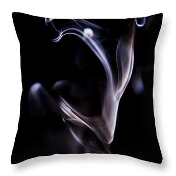 Flickers Throw Pillow