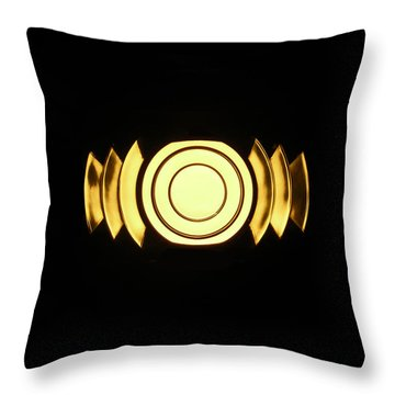 Infinite Gold By Jan Marvin Throw Pillow
