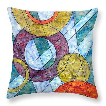 Infinite Loop Throw Pillow