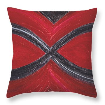 Infinite Love By Jrr Throw Pillow by First Star Art
