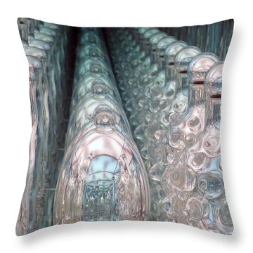 Infinity Trail Throw Pillow