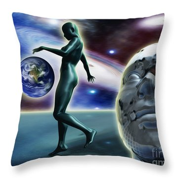 Infinity Vision Throw Pillow