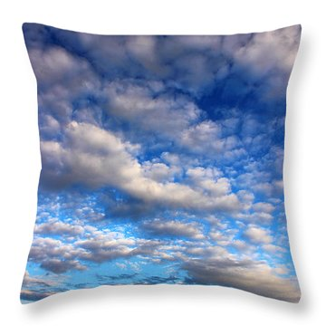 Influence Of Dusk Throw Pillow
