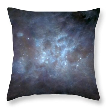 Throw Pillow featuring the photograph Infrared View Of Cygnus Constellation by Science Source