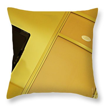 Infusion Suite Wall Throw Pillow by Sarah Loft