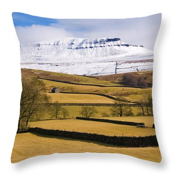 Ingleborough Throw Pillow