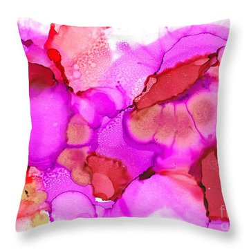 Ink Tango Throw Pillow