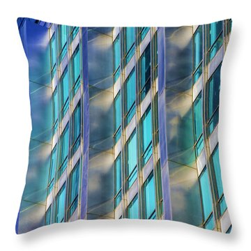 Inland Steel Building Throw Pillow