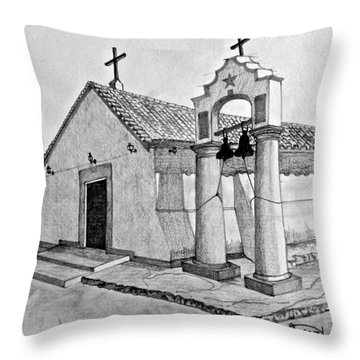 Inmaculade Conception Jadacaquiva Throw Pillow