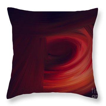 Inner Earth Throw Pillow