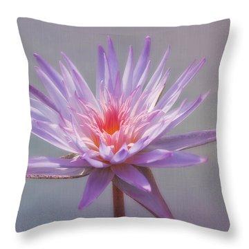 Inner Glow Throw Pillow by Kim Hojnacki