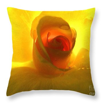 Inner Glow Throw Pillow by Robyn King