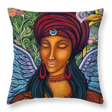 Inner Healer Throw Pillow