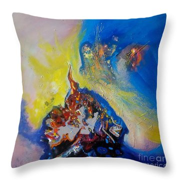 inner light II Throw Pillow