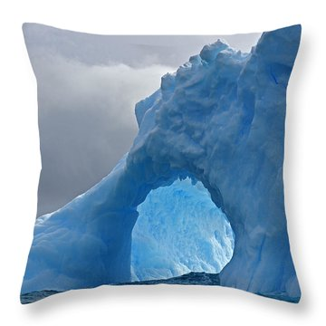 Inner Mounting Flame Throw Pillow