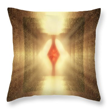 Inner Phase Throw Pillow