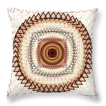 Inner Purpose Throw Pillow by Anastasiya Malakhova