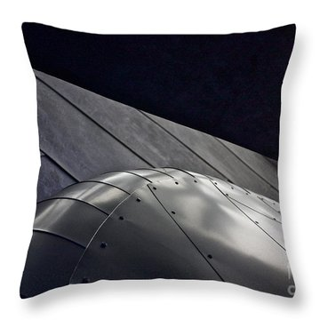 Inner Space 2 Throw Pillow by Linda Bianic