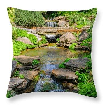 Inniswood Metro Park Photo Throw Pillow