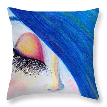 Innocence Throw Pillow by Beril Sirmacek