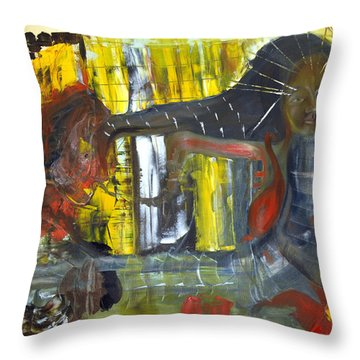 Innocence Of Youth Throw Pillow