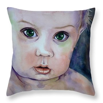 Innocent  Throw Pillow