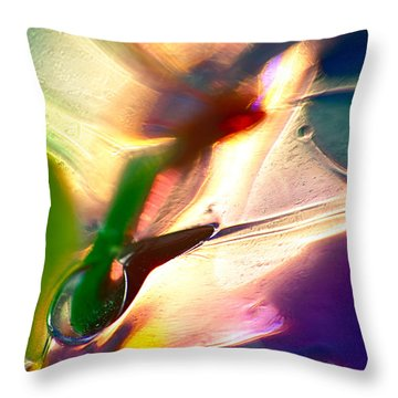 Insect Sized Throw Pillow by Omaste Witkowski