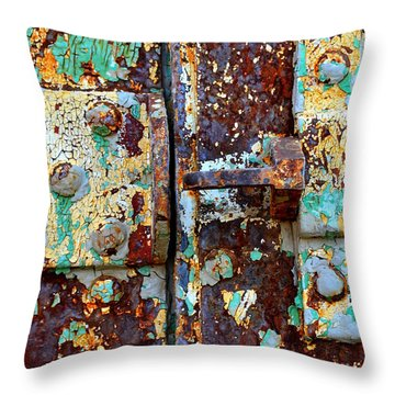 Insecure Throw Pillow by Newel Hunter