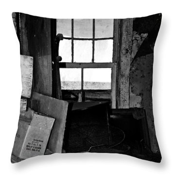 Inside Abandonment 2 Throw Pillow