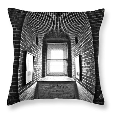 Inside Barney Throw Pillow