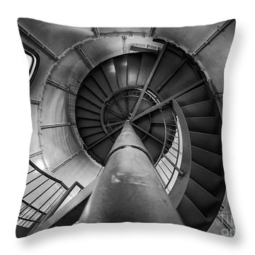 Inside Edgartown Lighthouse 1 Throw Pillow