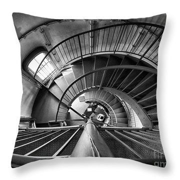 Inside Edgartown Lighthouse 3 Throw Pillow