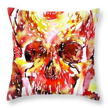 Inside Throw Pillow by Fabrizio Cassetta