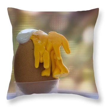 Throw Pillow featuring the photograph Inside Out 01 by Kevin Chippindall
