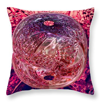 Inside Out Throw Pillow by Mo T