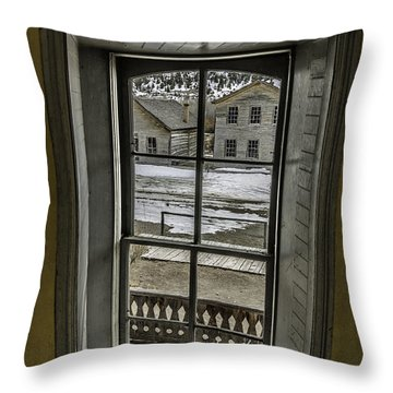 Inside Out Throw Pillow by Sue Smith